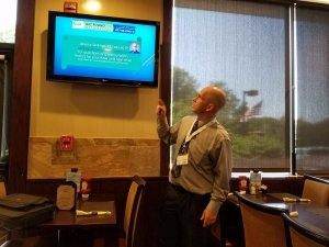 Jeremy Skillings Teaching at the 4th Thursday networking Group