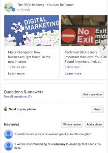 Google My Business (GMB) Posts