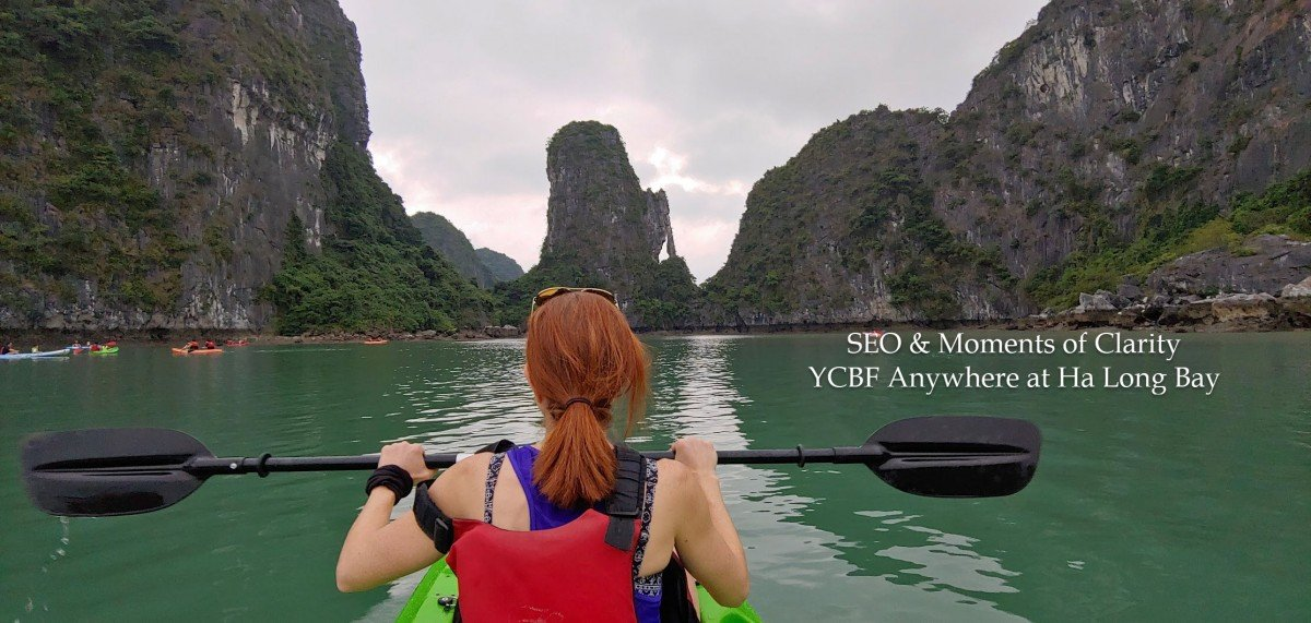 Kayaking Ha Long Bay SEO YCBF Anywhere