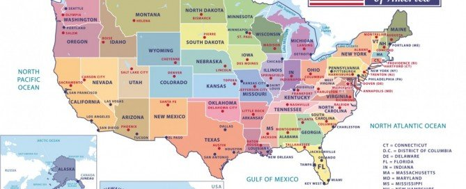 US Cities and States List- Negative Keywords