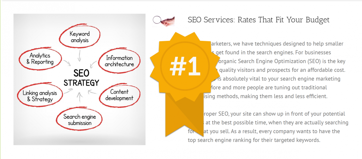 SEO Top Ranked Marketing Tactic