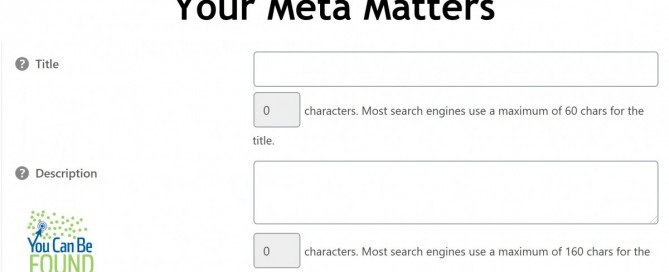 Meta Matters:Title Changes for SEO