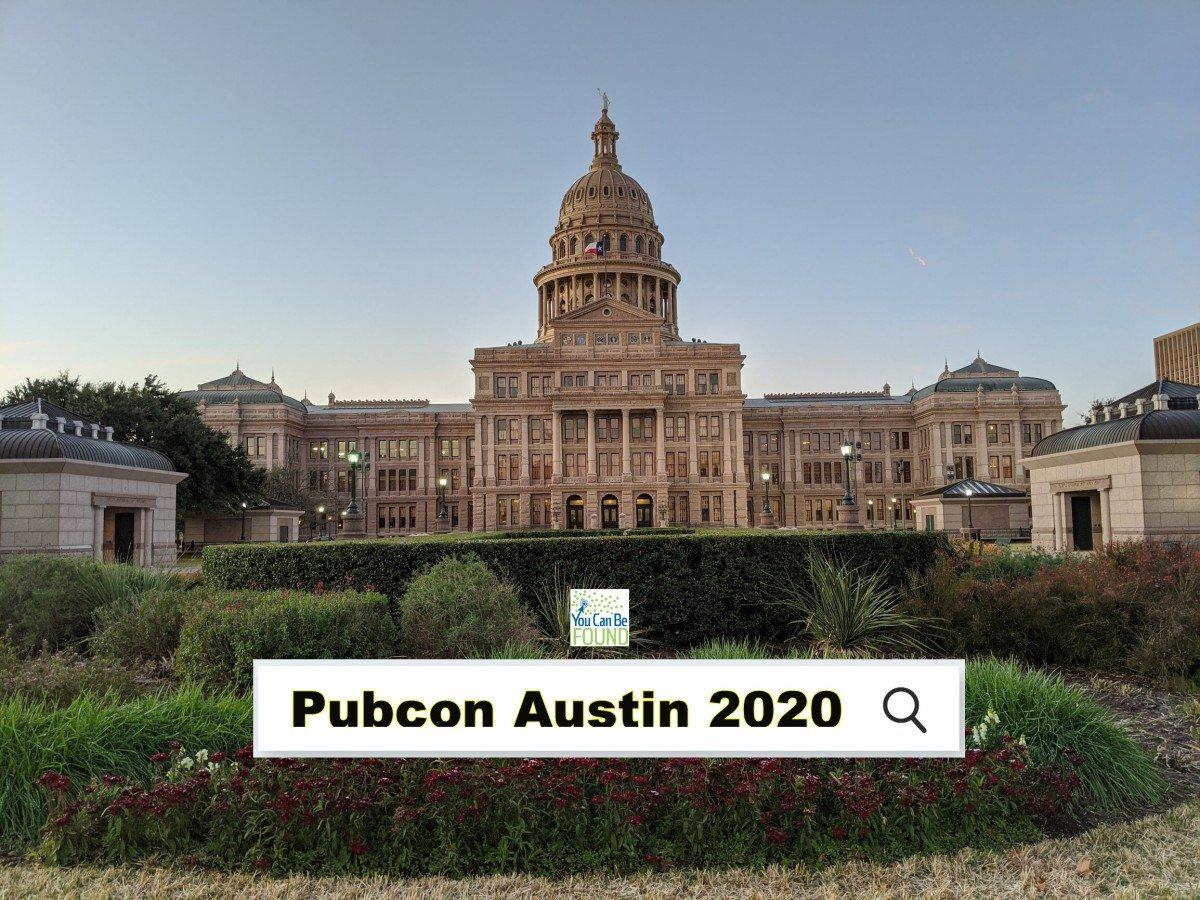 Pubcon Austin Texas 2020 Search Conference