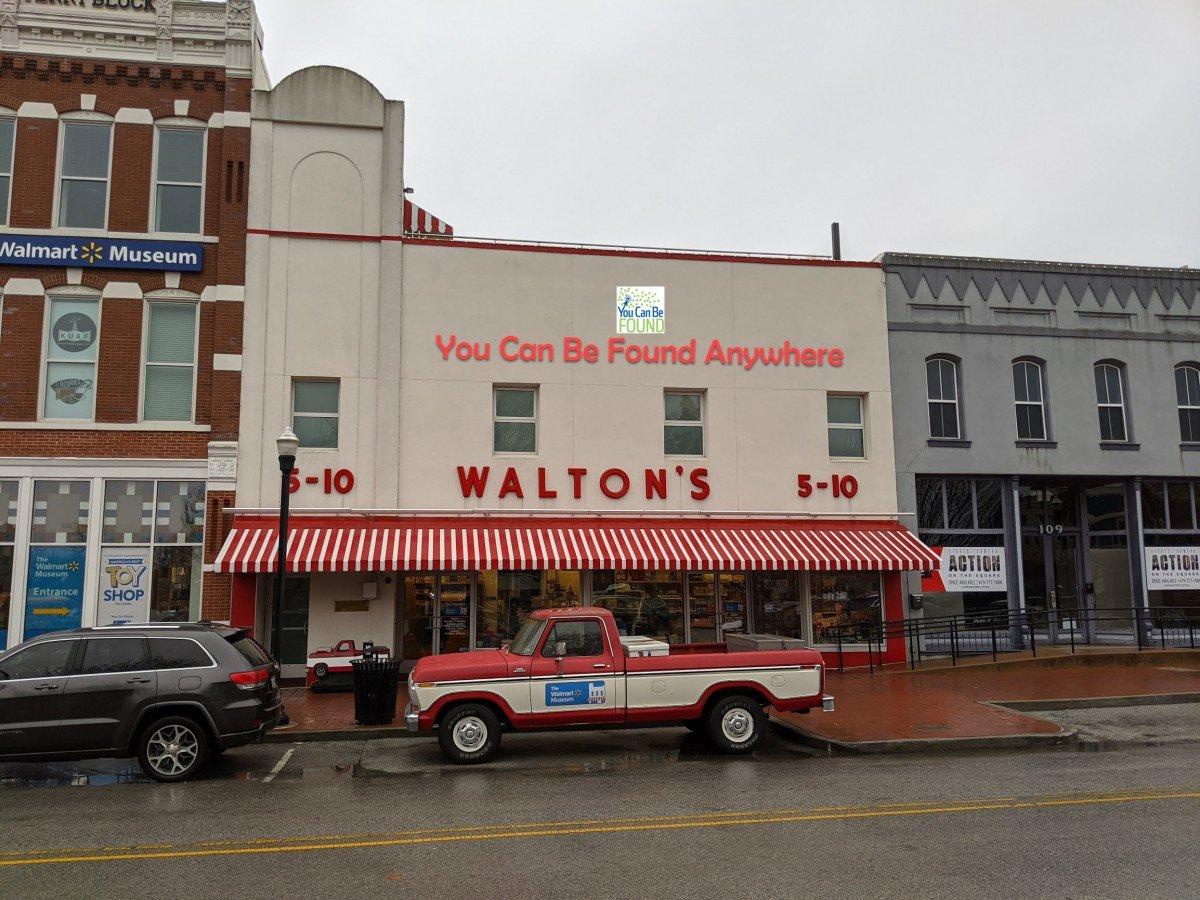 First Walmart YCBFAnywhere