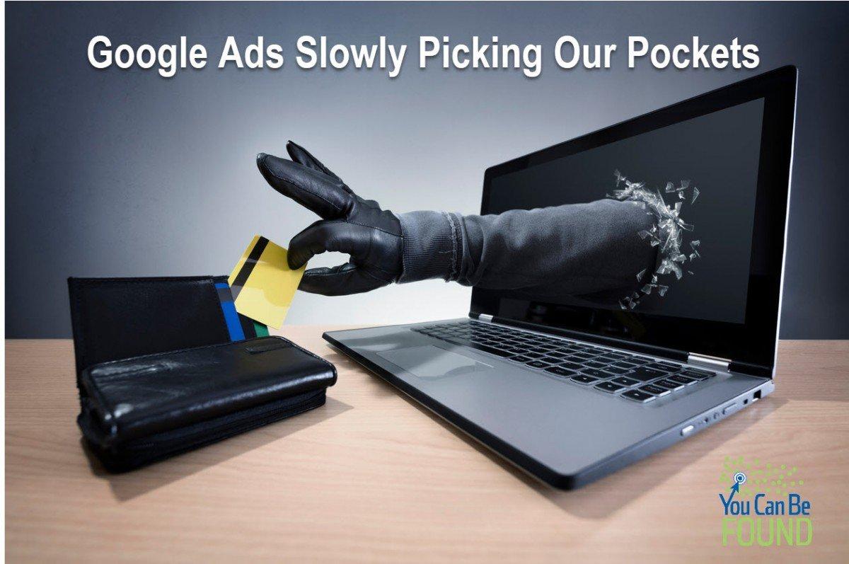 Google Ads Pickpocketing us