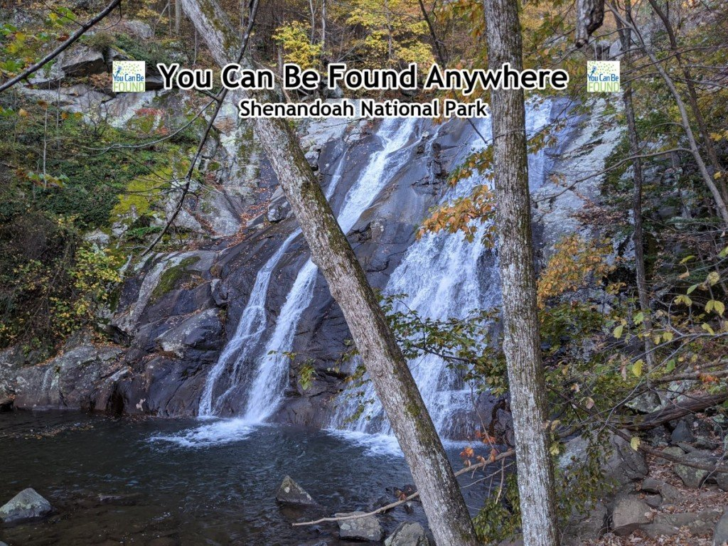 Shenandoah Waterfall Virginia YCBF Anywhere