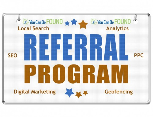 Digital Marketing and SEO Referral Program from You Can Be Found