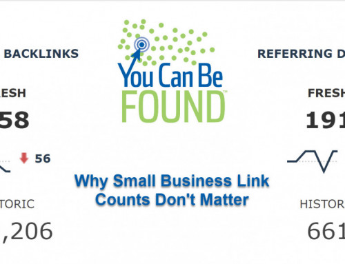 Why Small Business Link Counts Don't Matter
