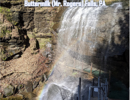 Buttermilk/Mr. Rogers Waterfall in PA: You Can Be Found Anywhere