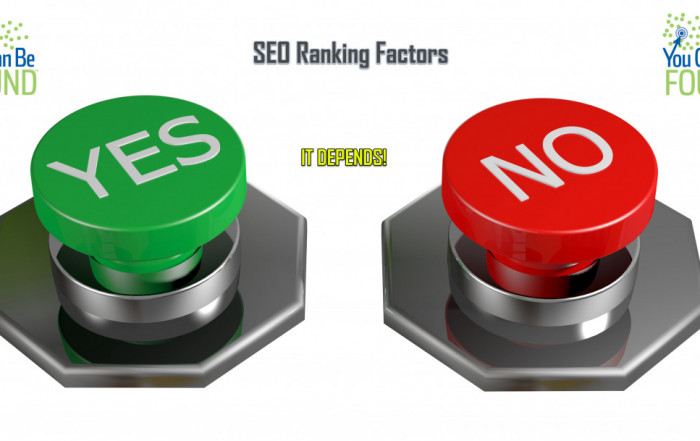 Small Business SEO Strategy Depends