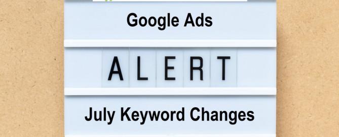 Small Business Google Ads Keyword Match Alert