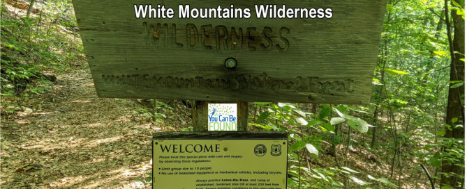 YCBFAnywhere White Mountains Wilderness